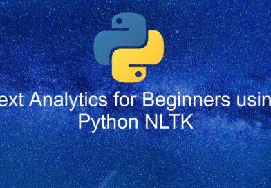Text Analytics for Beginners using Python NLTK