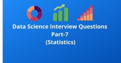 Data Science Interview Questions Part-7(Statistics)