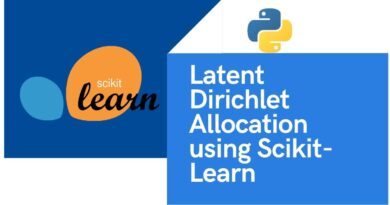 Latent Dirichlet Allocation using Scikit-learn