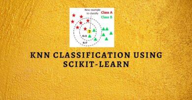 KNN Classification using Scikit-learn